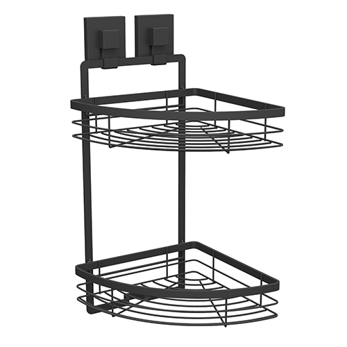 suction Double Corner Shelf