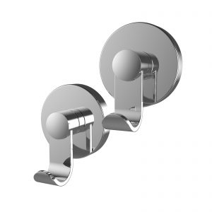 Chrome Suction Hook